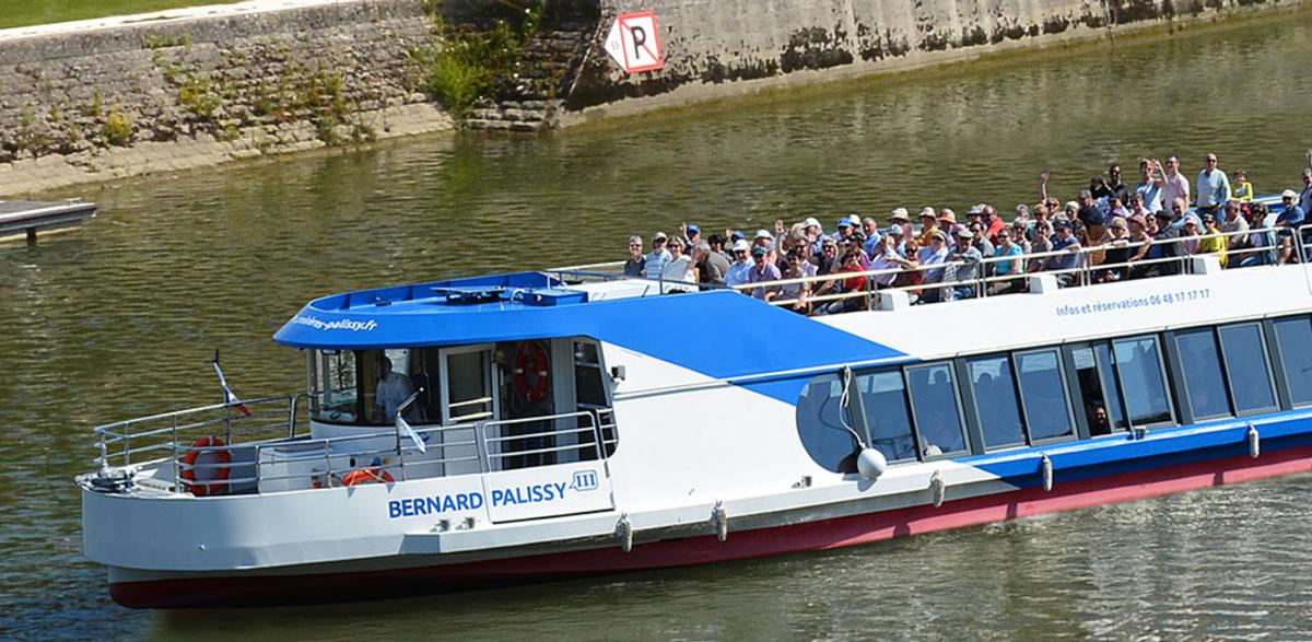 Palissy III : un bateau électro-solaire développé par Alternatives Energies