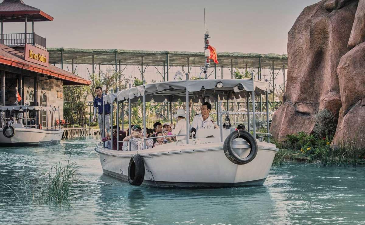 Torqeedo équipe des bateaux électriques au Vietnam