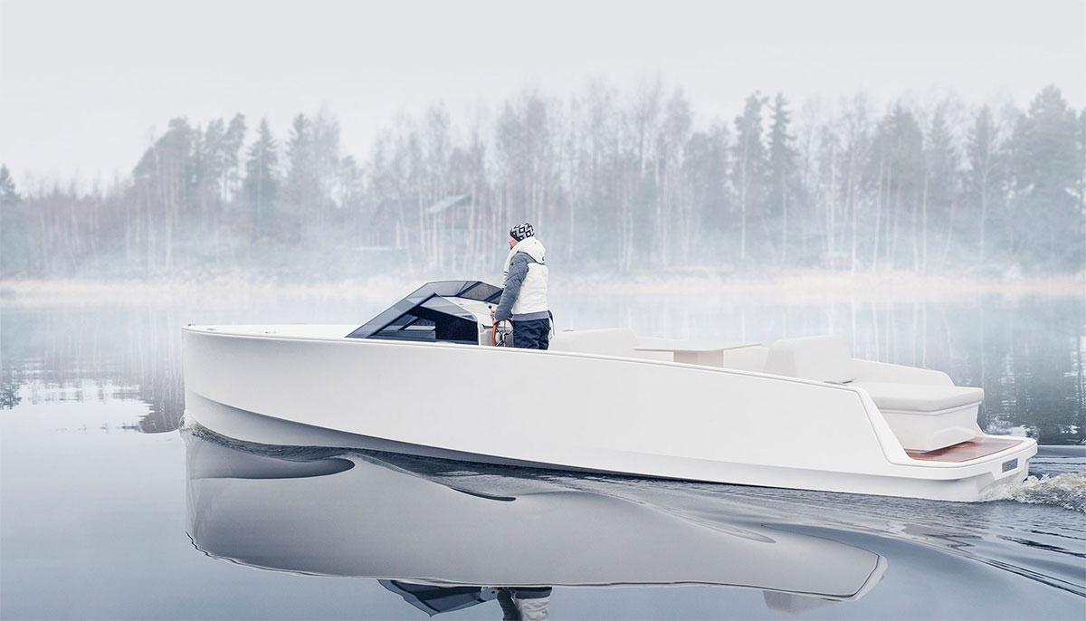 Q-Yatchs présente son premier bateau électrique