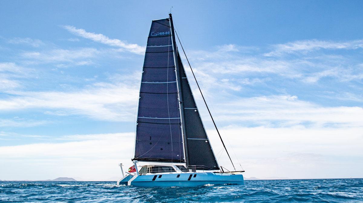 La technologie Torqeedo embarquée à bord d'un catamaran de luxe