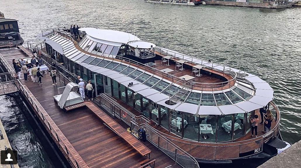 Alain Ducasse lance ses croisières gastronomiques en bateau électrique sur la Seine