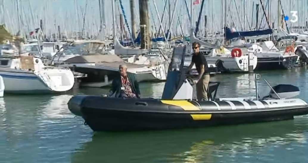 Vidéo : quand le bateau électrique s'invite au Grand Pavois