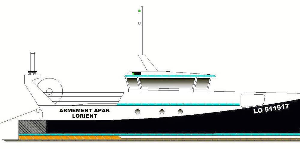 Pechyb : un bateau de pêche hybride développé par Arco Marine
