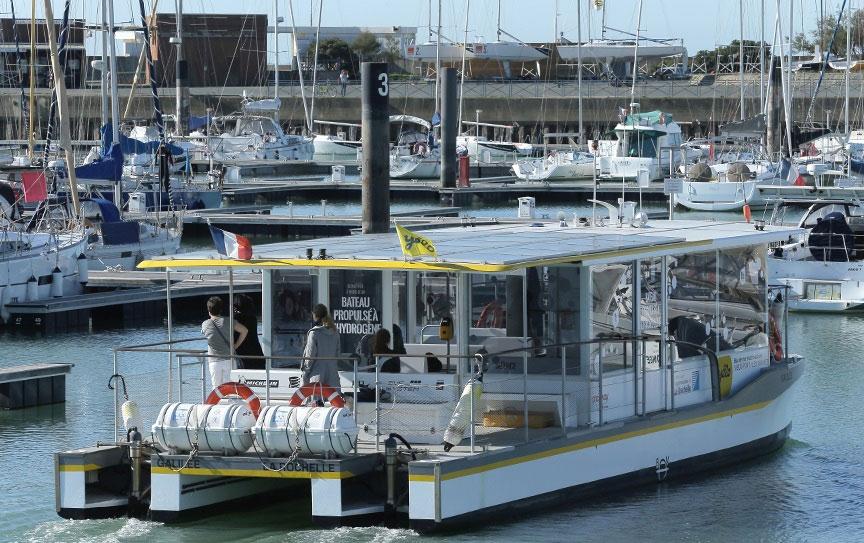 Un appel à projets ADEME pour le développement du bateau à hydrogène