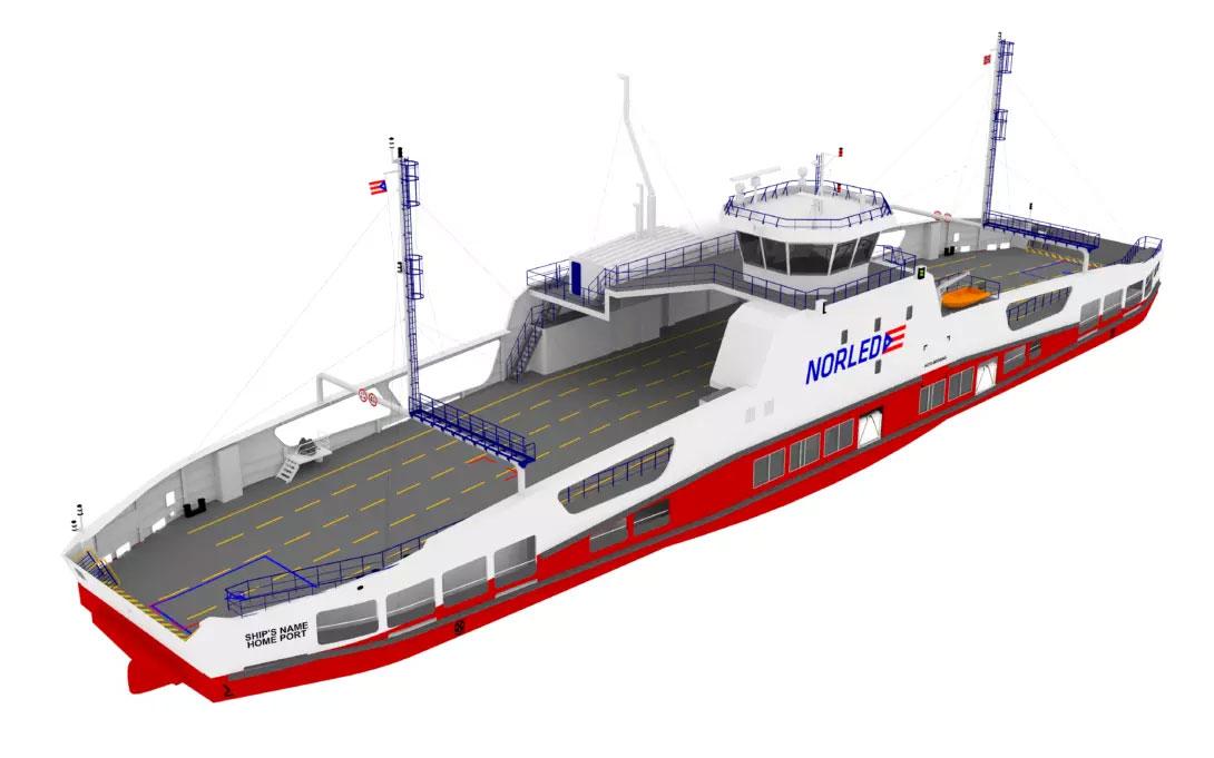 Norvège : Norled va construire son premier ferry à hydrogène