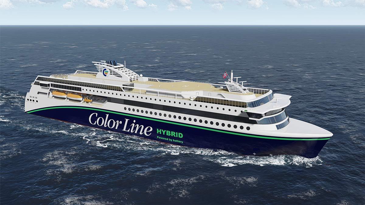 Color Hybrid : un navire hybride rechargeable pour les fjords norvégiennes