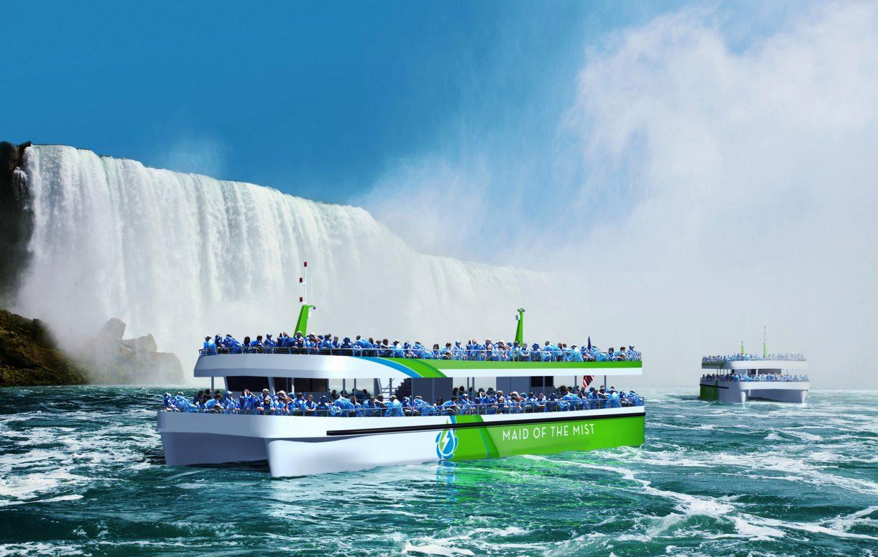 Des bateaux électriques pour les chutes du Niagara