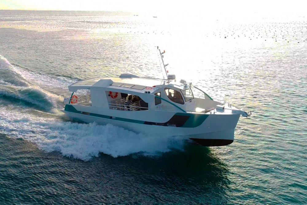 Une vedette hybride ODC Marine pour Latitude Verte