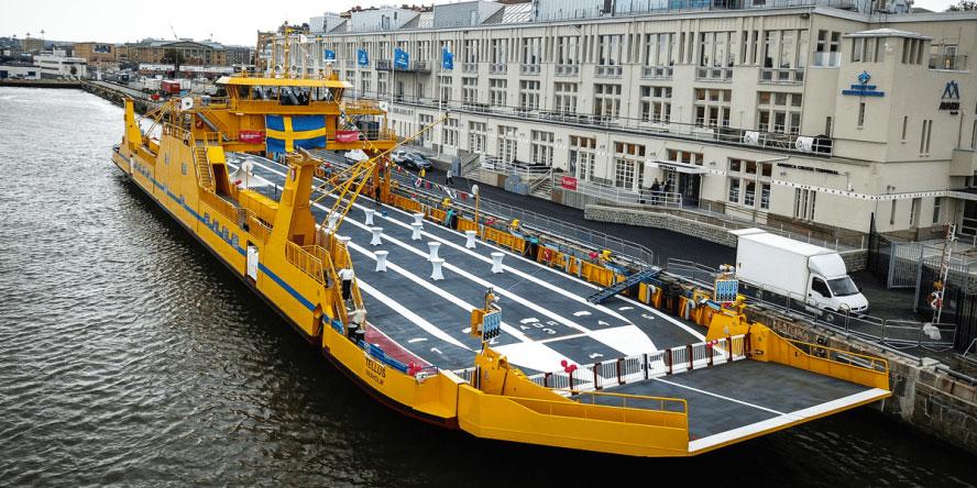 Danfoss équipe le plus grand ferry hybride de Suède