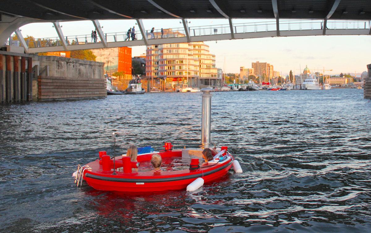 Canada : Des bateaux-spas électriques pour la ville de Victoria