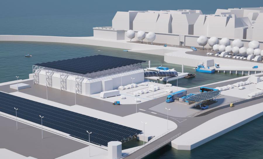 Energy Observer lance sa startup de l'hydrogène
