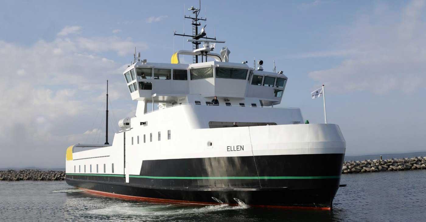 Ellen : le plus grand ferry électrique au monde réalise sa première traversée