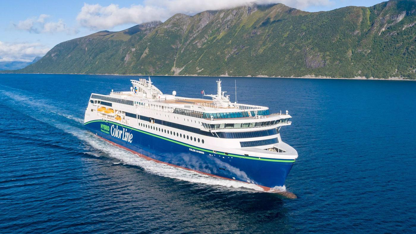 Norvège : Le plus grand navire hybride au monde entre en service