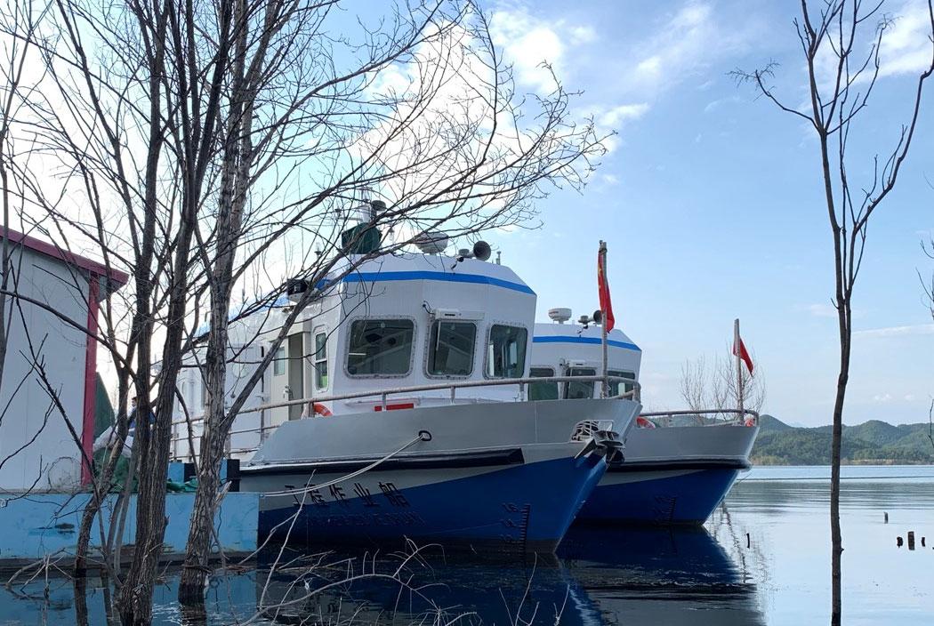 Danfoss équipe deux bateaux électriques à Pékin