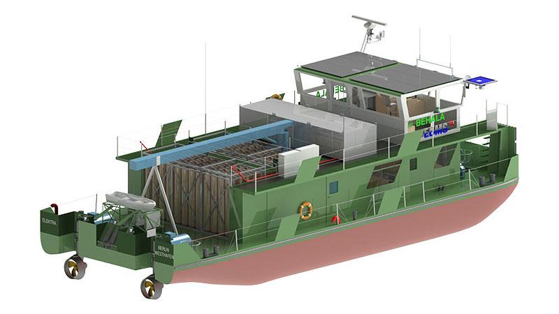 Un bateau remorqueur à hydrogène pour Berlin et Hambourg