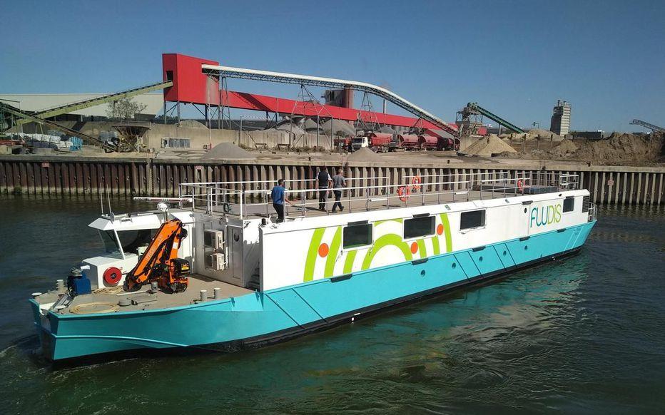 Fludis : un bateau électrique pour des livraisons écologiques sur la Seine