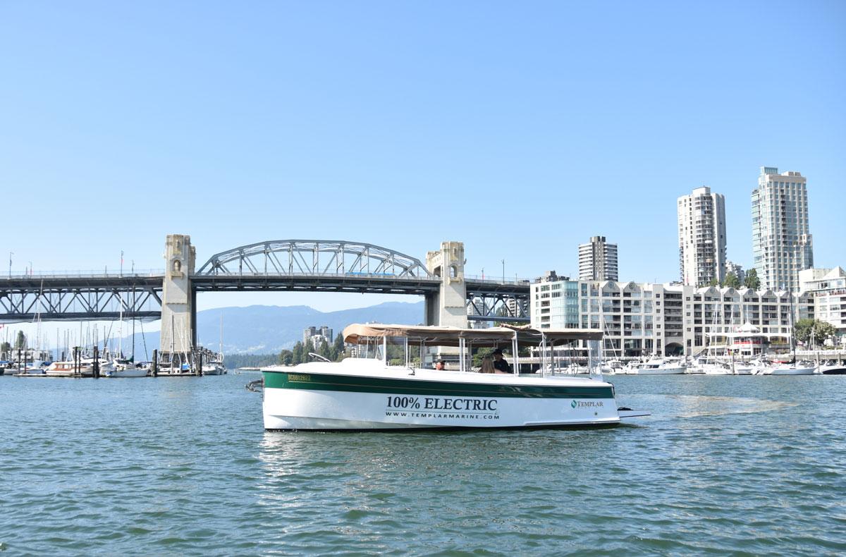 Canada : Torqeedo équipe les bateaux touristiques électriques de Templar Marine
