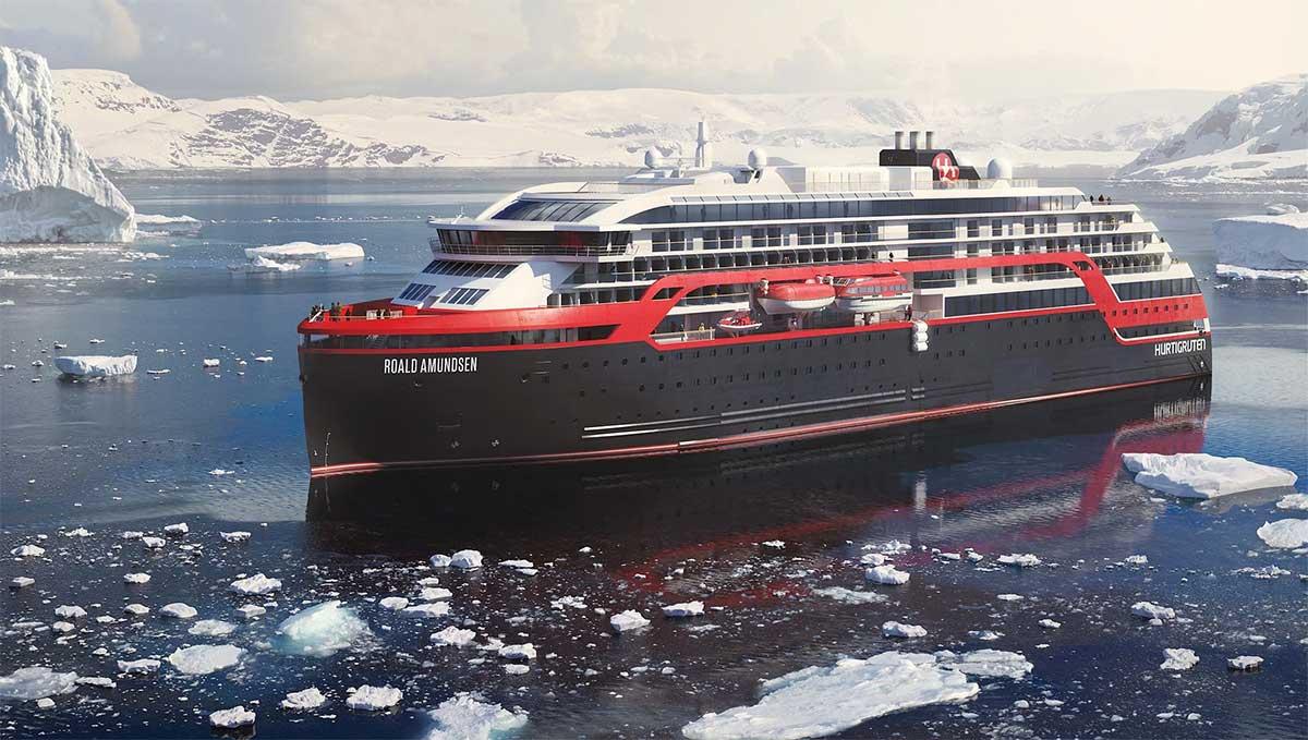 Hurtigruten met en service son premier navire hybride