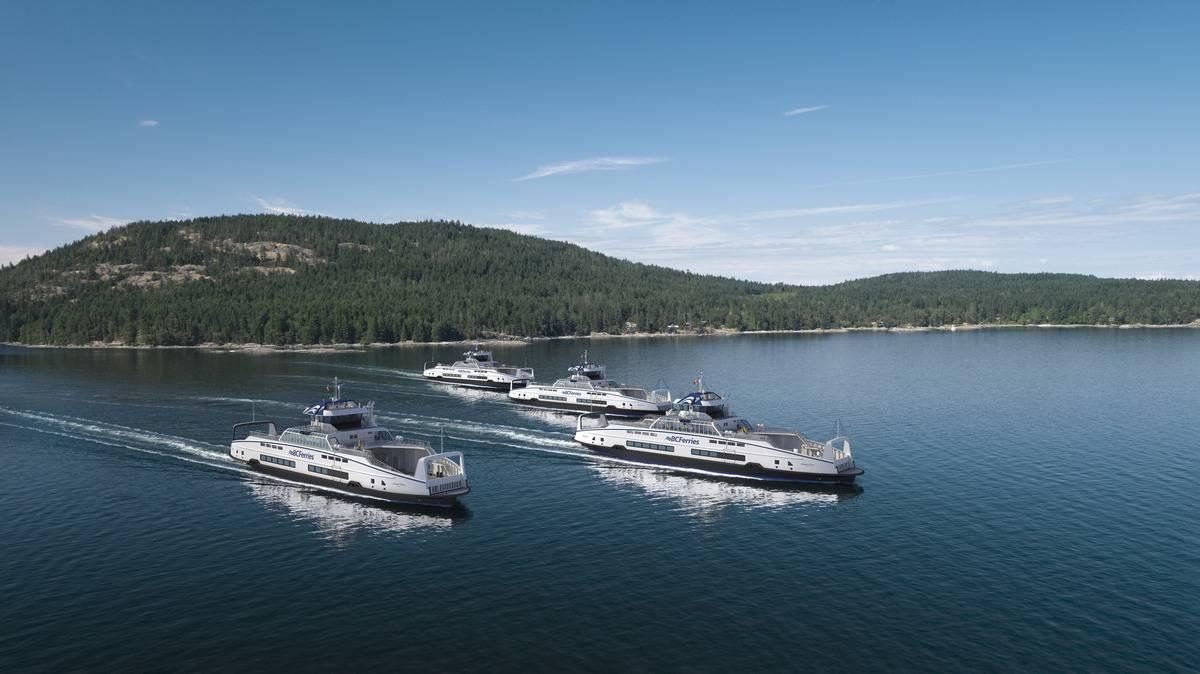 Au Canada, BC Ferries commande quatre nouveaux navires hybrides