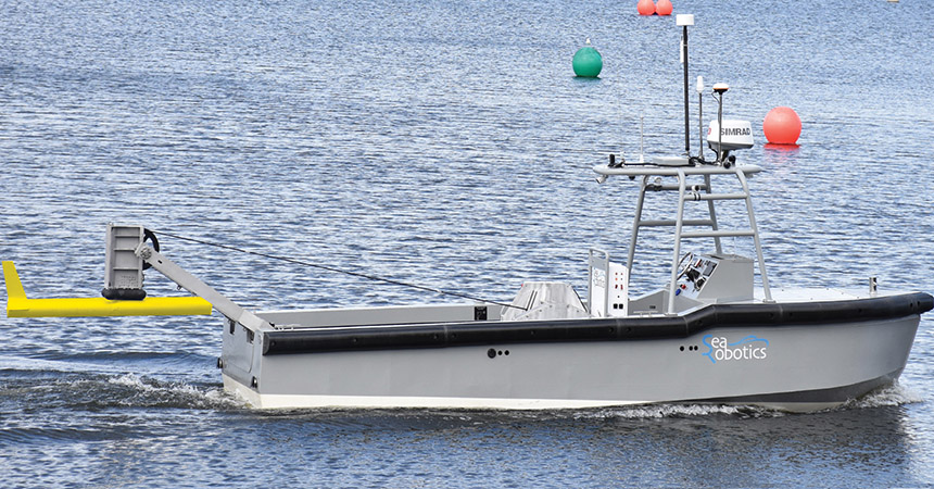 Torqueedo équipe le nouveau bateau de recherche hybride de SeaRobotics