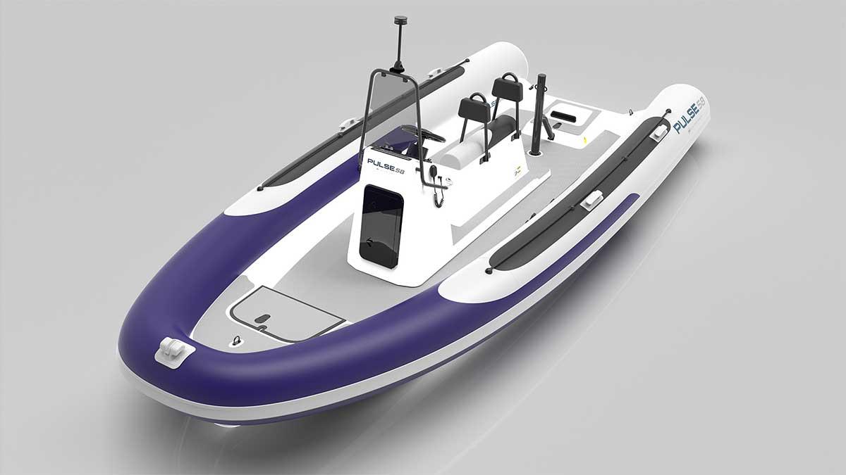 Pulse58 : un semi-rigide électrique pour RS Electric Boats