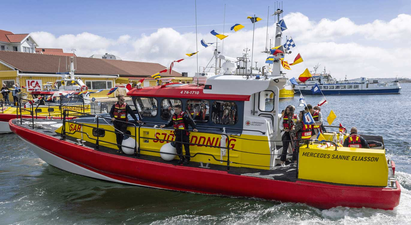 Torqeedo équipe le navire de sauvetage hybride de la Sea Rescue Society