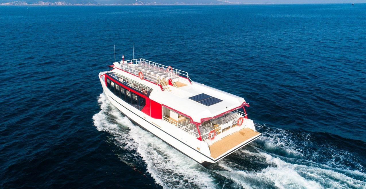 Un navire hybride ODC Marine pour le Lac d'Annecy