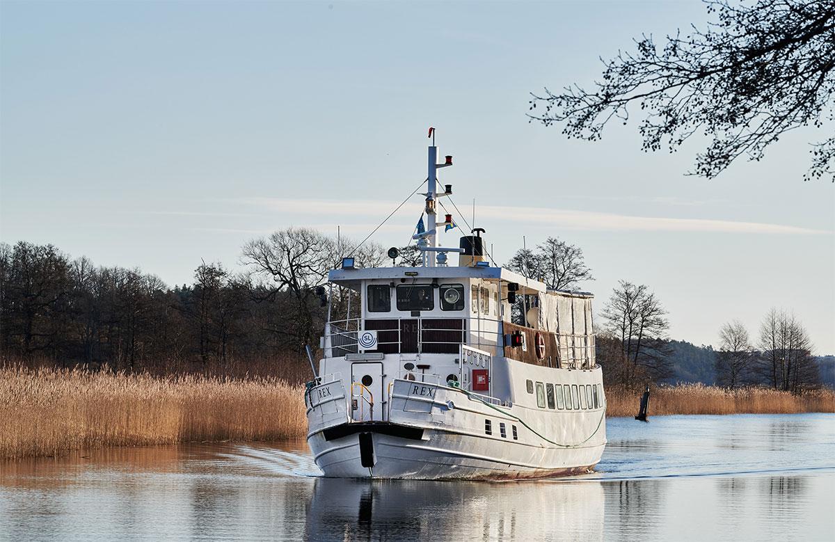 Un bateau hybride pour la ville de Stockholm