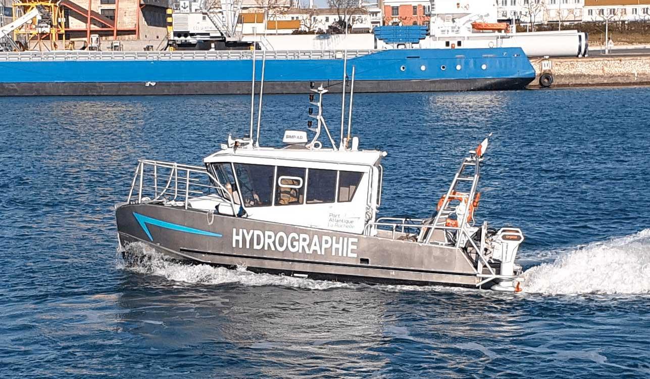 Un bateau hybride avec système Torqeedo pour le Port de La Rochelle