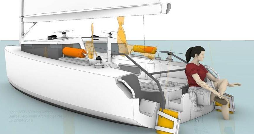 Renaissance électrique pour les voiliers Ikone