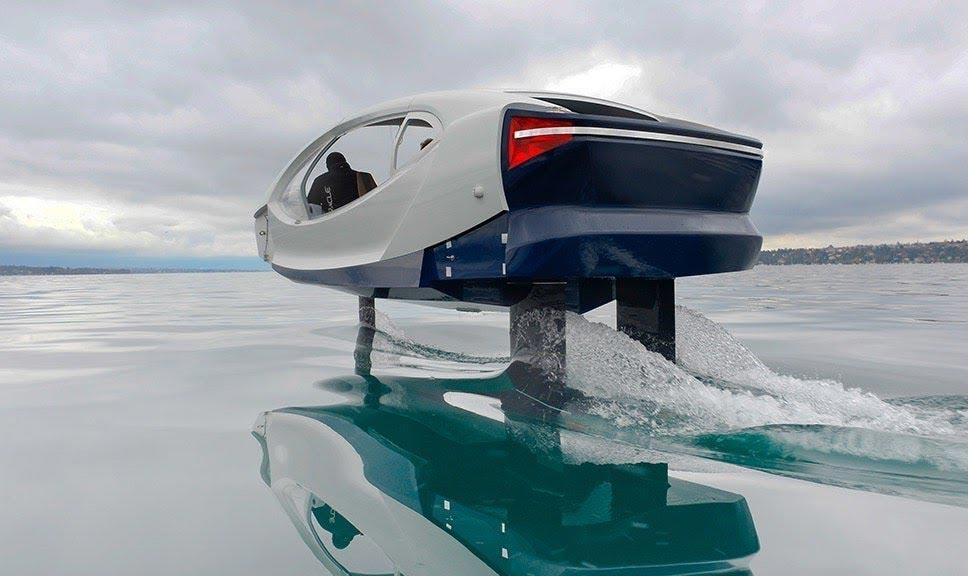 La région Auvergne-Rhône-Alpes commande un bateau à hydrogène à Seabubble