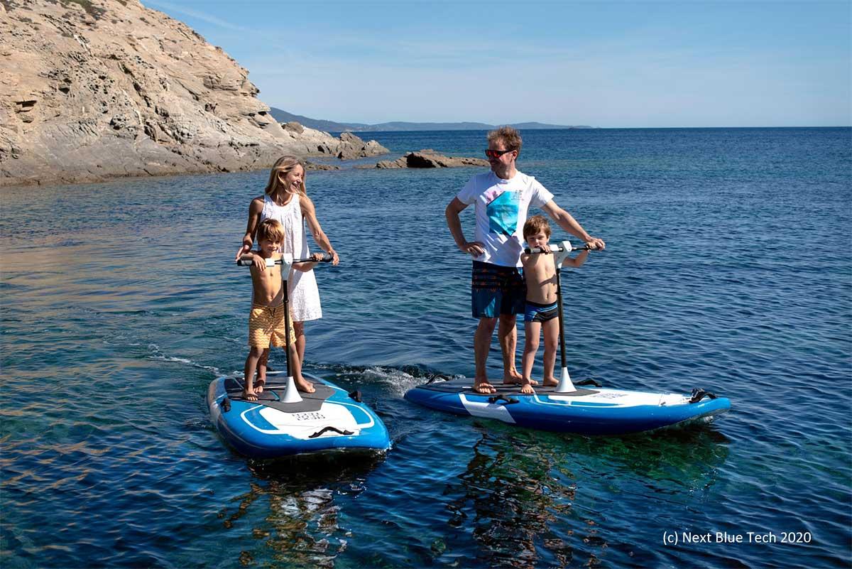 BlueWay : la trottinette électrique des mers
