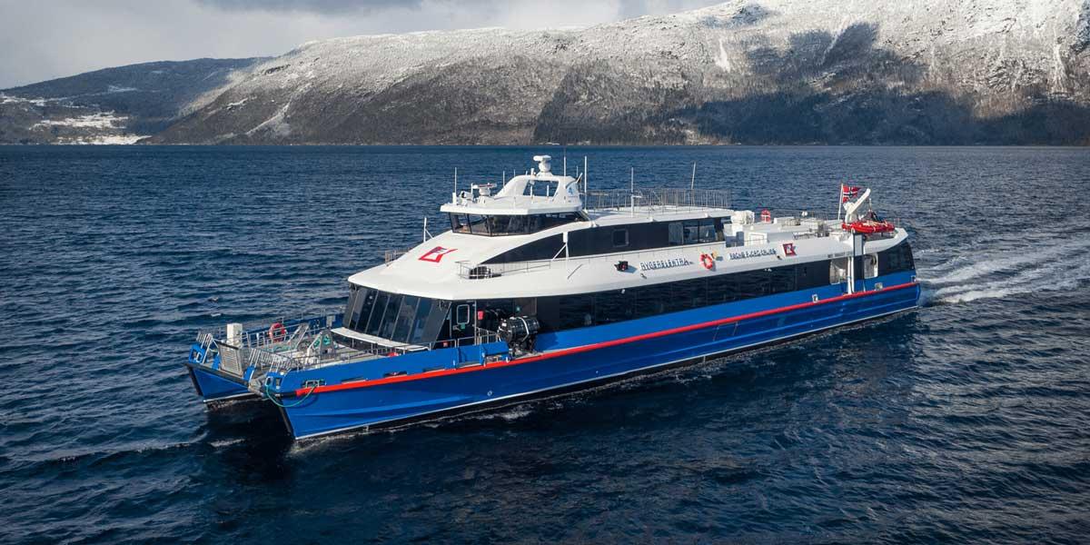 Un nouveau ferry électrique bientôt lancé en Norvège