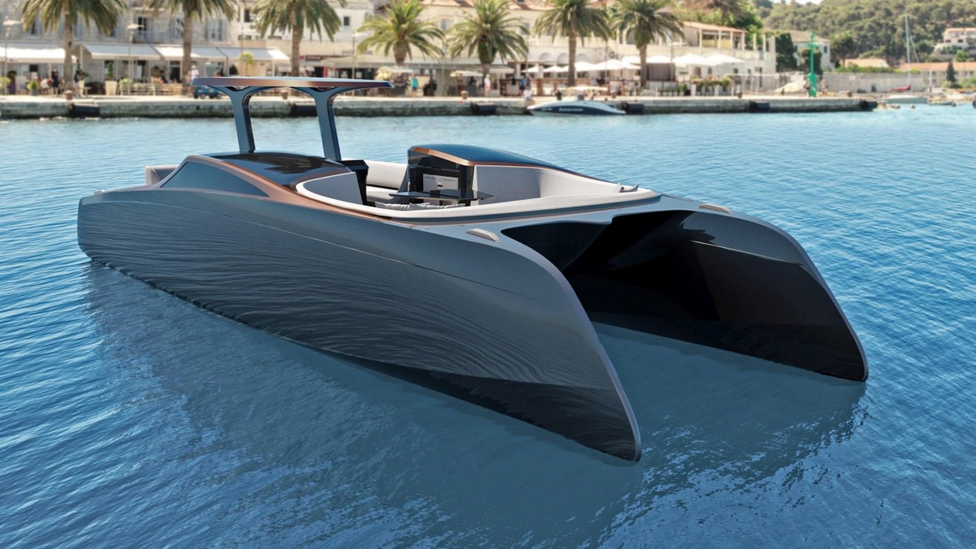 Voltaire Electric Yachts présente son premier bateau électrique.