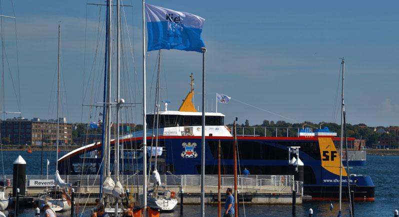 Allemagne : un ferry hybride rechargeable pour Kiel