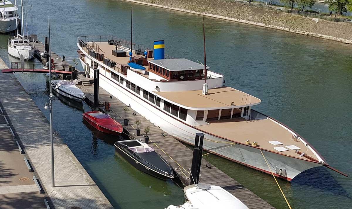 Des batteries de seconde vie pour les bateaux électriques de Paris Yacht Marina