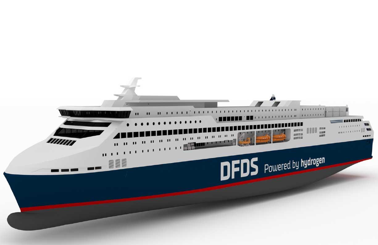 DFDS veut exploiter un ferry à hydrogène pour relier Oslo et Copenhague