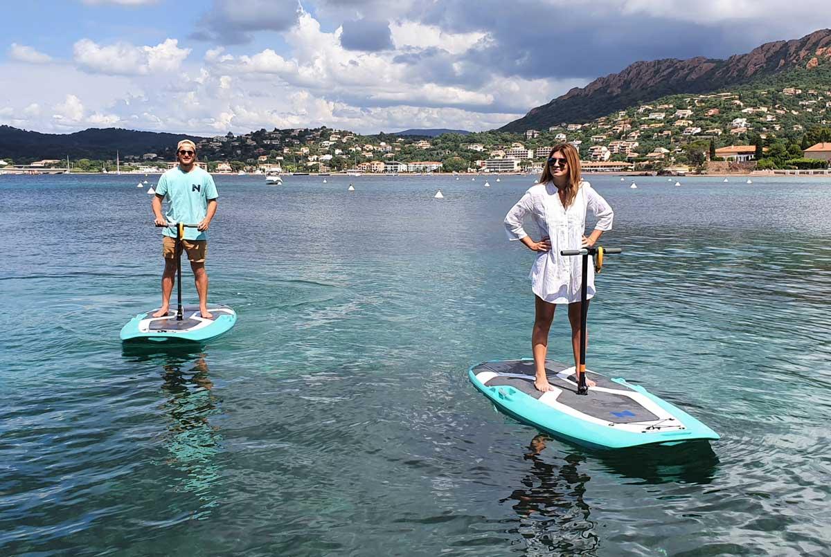BlueWay : la trottinette des mers électrique vogue sur le succès