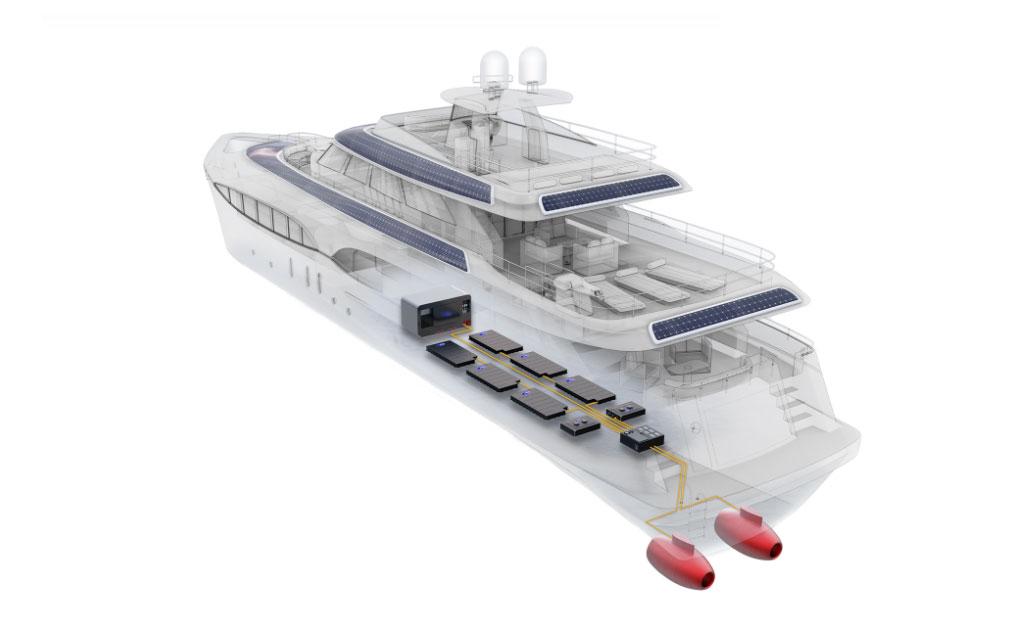 Le fabricant de motos Energica s'interesse au bateau électrique