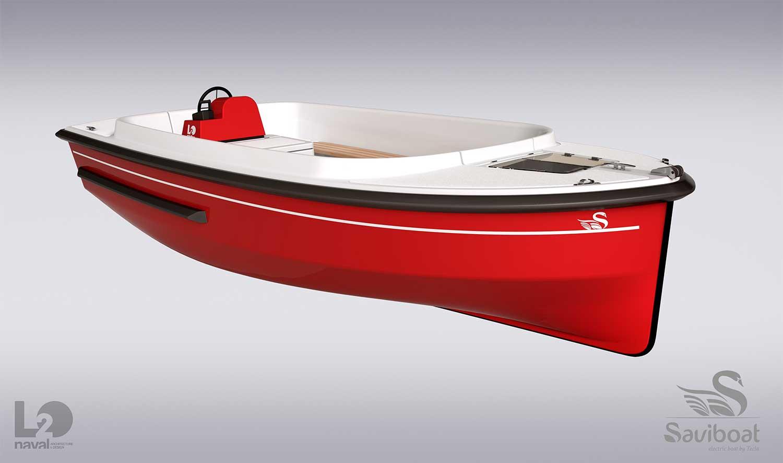 Elite 5 : un nouveau bateau électrique de loisirs pour Saviboat