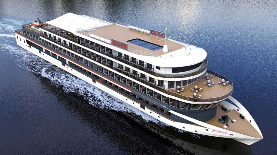 La Chine s'apprête à lancer le plus grand ferry électrique au monde