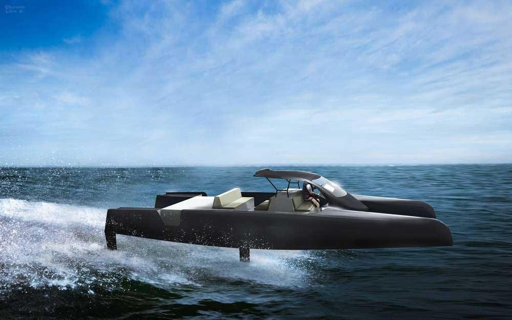 Un catamaran électrique à foils pour l'entreprise de François Gabart