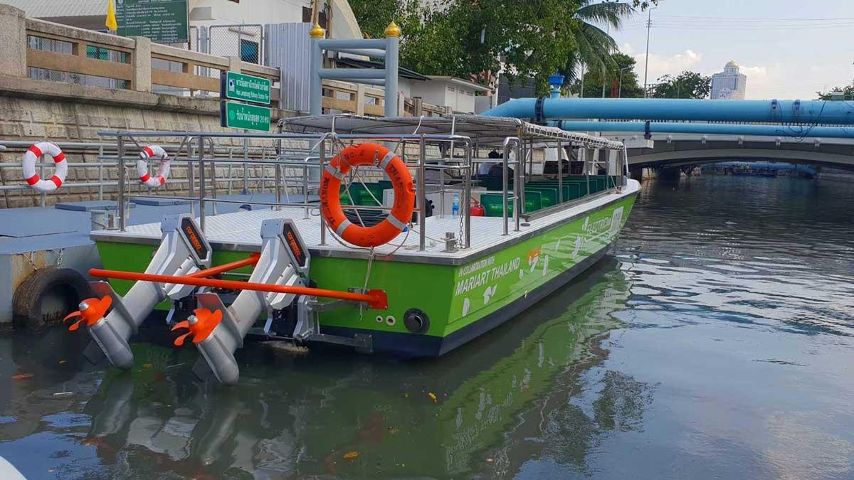 Torqeedo équipe une flotte de bateaux électriques à Bangkok