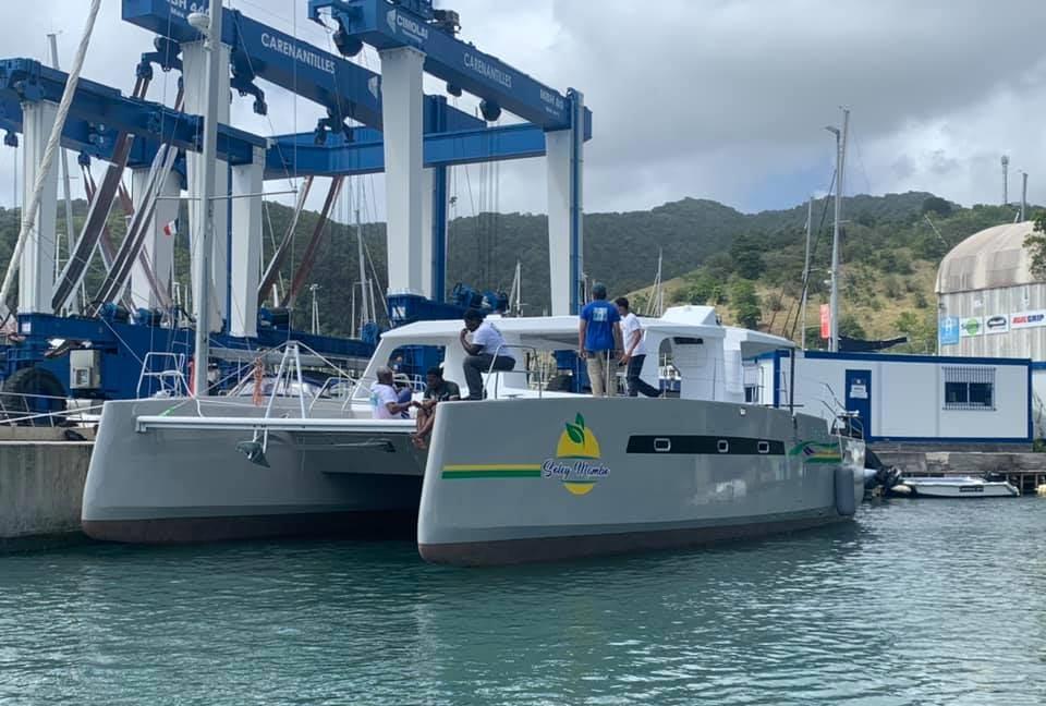Un catamaran électro-solaire pour la Martinique