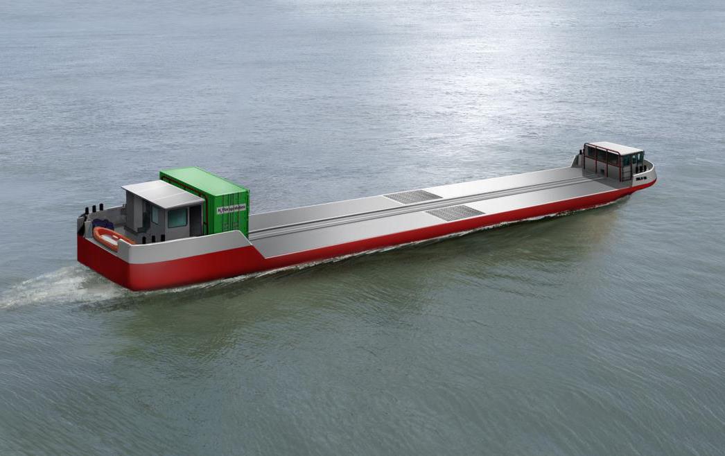 Flagships : une péniche à hydrogène sur la Seine d'ici fin 2021