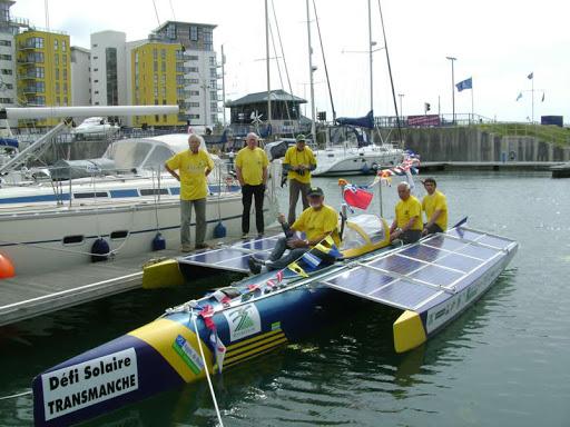 Le bateau solaire Eolios prépare la reprise de la saison estivale