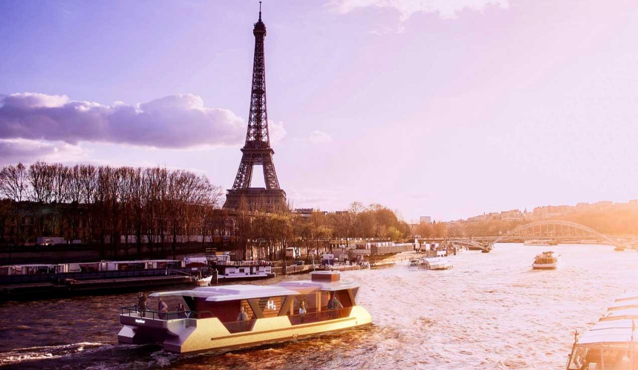 Des bateaux à hydrogène pour les Jeux Olympiques 2024