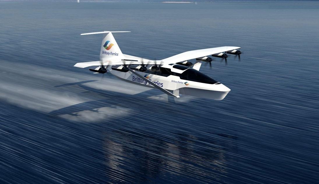 Seaglider : l'étrange projet de bateau volant de Brittany Ferries