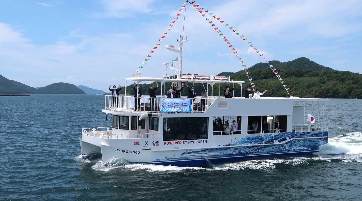 HydroBingo : un premier ferry à hydrogène pour le Japon