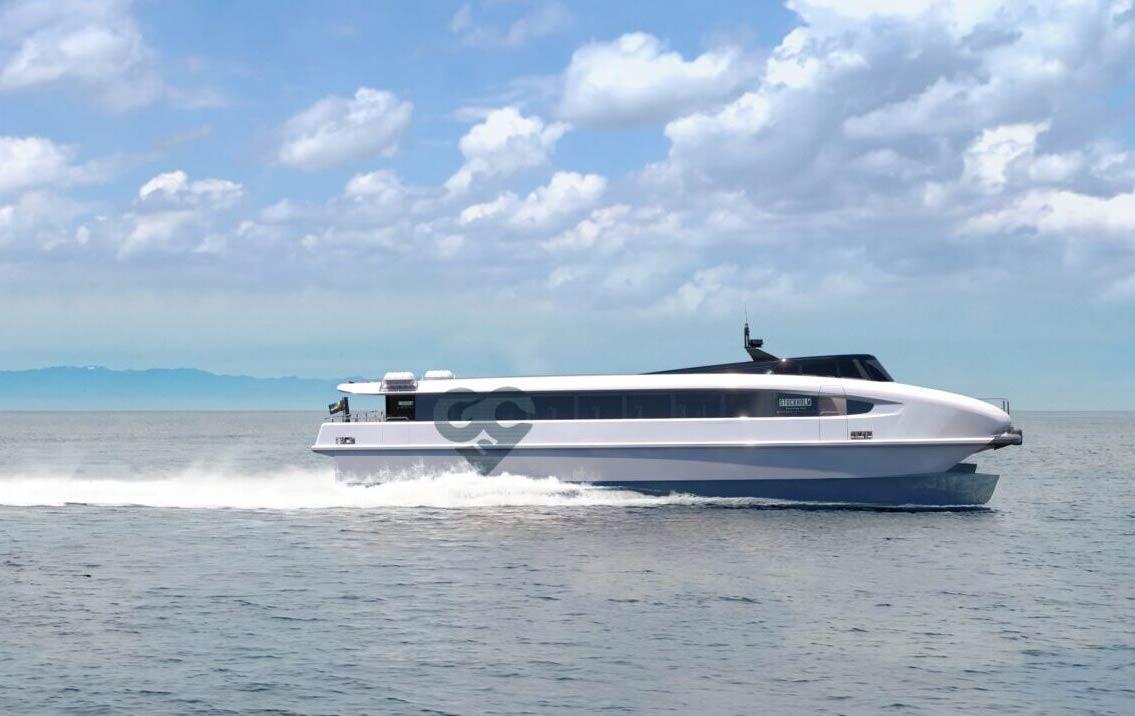 Green City Ferries  présente son nouveau ferry zéro émission